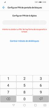 Activa o desactiva el uso del código de seguridad - Huawei Mate 20 Lite - Passo 5