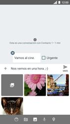 Envía fotos, videos y audio por mensaje de texto - Motorola Moto C - Passo 13