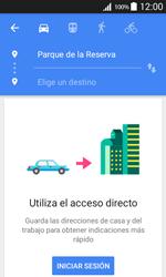 Uso de la navegación GPS - Samsung Galaxy Core Prime - G360 - Passo 12