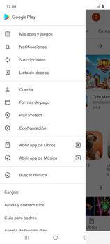 Cambiar configuración de actualizaciones de aplicaciones - Samsung Galaxy A51 - Passo 7