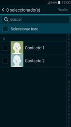 ¿Tu equipo puede copiar contactos a la SIM card? - Samsung Galaxy Alpha - G850 - Passo 9
