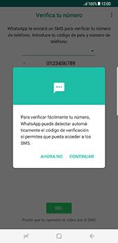 Configuración de Whatsapp - Samsung Galaxy S8+ - Passo 10