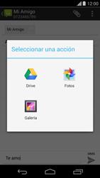 Envía fotos, videos y audio por mensaje de texto - Motorola Moto G - Passo 12