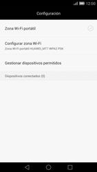 Configura el hotspot móvil - Huawei Ascend Mate 7 - Passo 7