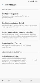 Restaura la configuración de fábrica - Samsung Galaxy S9 Plus - Passo 6