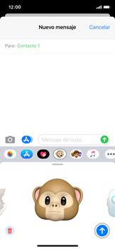 Enviar Animoji - Apple iPhone XS - Passo 15