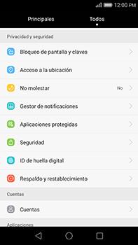 Desbloqueo del equipo por medio del patrón - Huawei G8 Rio - Passo 3