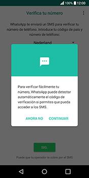 Configuración de Whatsapp - LG Q6 - Passo 10