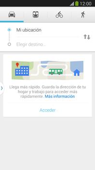 Uso de la navegación GPS - Samsung Galaxy Note Neo III - N7505 - Passo 7