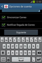 Configura tu correo electrónico - Samsung Galaxy Fame Lite - S6790 - Passo 20
