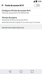 Configura el hotspot móvil - LG G5 - Passo 8