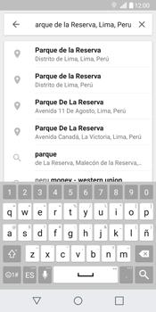 Uso de la navegación GPS - LG G6 - Passo 9