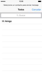 Envía fotos, videos y audio por mensaje de texto - Apple iPhone 5s - Passo 4