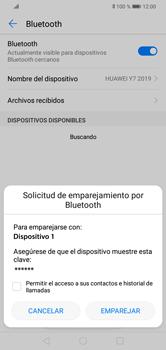 Conecta con otro dispositivo Bluetooth - Huawei Y7 2019 - Passo 7