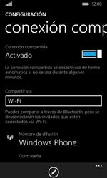 Configura el hotspot móvil - Microsoft Lumia 532 - Passo 8