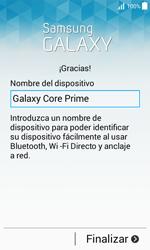 Activa el equipo - Samsung Galaxy Core Prime - G360 - Passo 17