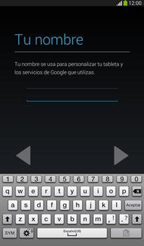 Crea una cuenta - Samsung Galaxy Tab 3 7.0 - Passo 5