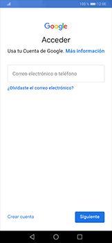 Crea una cuenta - Huawei P30 Pro - Passo 3