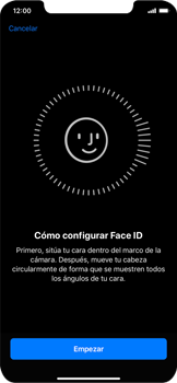 Cómo configurar el Face ID - Apple iPhone XR - Passo 5