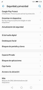Desbloqueo del equipo por medio del patrón - Huawei P20 Pro - Passo 4