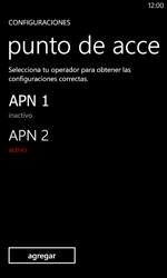 Configura el Internet - Nokia Lumia 520 - Passo 21