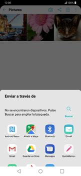 Transferir fotos vía Bluetooth - LG G7 ThinQ - Passo 9