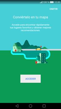 Uso de la navegación GPS - Huawei Mate 8 - Passo 5