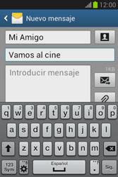 Envía fotos, videos y audio por mensaje de texto - Samsung Galaxy Fame Lite - S6790 - Passo 11