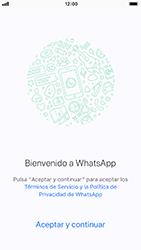 Configuración de Whatsapp - Apple iPhone 8 - Passo 6