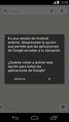 Uso de la navegación GPS - Motorola Moto X (2a Gen) - Passo 7