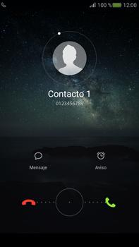 Contesta, rechaza o silencia una llamada - Huawei Mate S - Passo 2