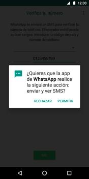 Configuración de Whatsapp - Motorola Moto G6 Plus - Passo 11