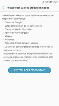 Restaura la configuración de fábrica - Samsung Galaxy A7 2017 - A720 - Passo 7