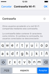 Configura el hotspot móvil - Apple iPhone 4s - Passo 7
