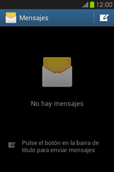 Envía fotos, videos y audio por mensaje de texto - Samsung Galaxy Fame GT - S6810 - Passo 3