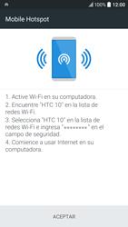 Configura el hotspot móvil - HTC 10 - Passo 15
