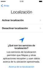 Activa el equipo - Apple iPhone 5s - Passo 7