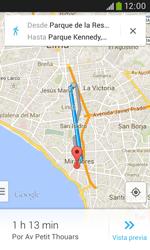 Uso de la navegación GPS - Samsung Galaxy Trend Plus S7580 - Passo 16
