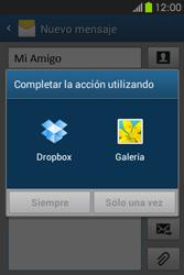 Envía fotos, videos y audio por mensaje de texto - Samsung Galaxy Fame GT - S6810 - Passo 14