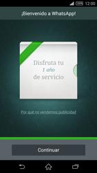 Configuración de Whatsapp - Sony Xperia Z2 D6503 - Passo 9