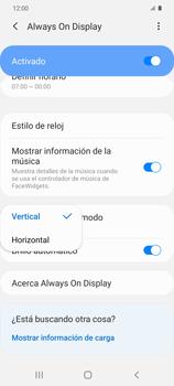 Cómo activar Always on Display - Samsung Galaxy S20 - Passo 15