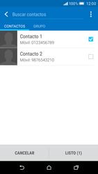 Envía fotos, videos y audio por mensaje de texto - HTC One M9 - Passo 7