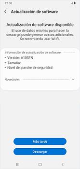 Actualiza el software del equipo - Samsung Galaxy A10 - Passo 8