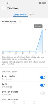 Verificar el uso de datos por apps - Huawei Nova 5T - Passo 6