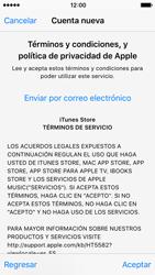 Crea una cuenta - Apple iPhone SE - Passo 9