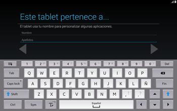 Activa el equipo - Samsung Galaxy Note Pro - Passo 10