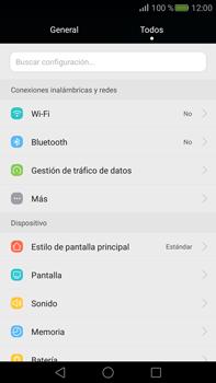 Configura el WiFi - Huawei Mate S - Passo 3