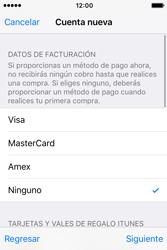 Crea una cuenta - Apple iPhone 4s - Passo 17