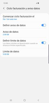 Desactivación límite de datos móviles - Samsung S10+ - Passo 7