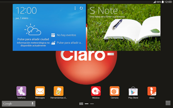 Descarga el manual - Samsung Galaxy Note Pro - Passo 1